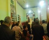 برگزاری مراسم شب چهارم فاطمیه در مسجد علی بن ابیطالب پشته سید شیر خدا در شهرستان خرم آباد