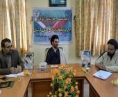 سخنرانی رئیس تبلیغات اسلامی شهرستان سلسله در جلسه کارشناسان قرآنی