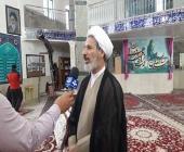 غبارروبی مسجد حضرت زهرا(س) با حضور مدیرکل تبلیغات اسلامی لرستان