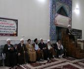 مراسم ترحیم حجتالاسلام علی ابراهیمی در لرستان
