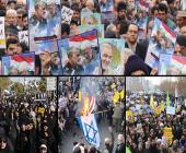 راهپیمایی حمایت از اقتدارنظام درسراسر ایران