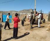 حضور روحانیون مستقر و تشکل های دینی شهرستان کوهدشت در جبهه مقابله با ویروس کرونا