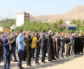 تجمع محکومیت اهانت به ساحت مقدس پیامبر(ص) در خرمآباد برگزار شد