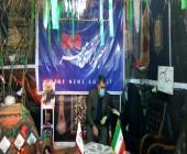 استقرار استودیو صداوسیما در نمایشگاه دفاع مقدس