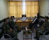 دیدار مدیر کل تبلیغات اسلامی لرستان با فرمانده یگان ویژه