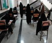 آزمون ورودی دورههای تربیت معلم قرآن کریم در الیگودرز برگزار شد