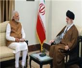 رهبر معظم انقلاب اسلامی در دیدار نخستوزیر هندوستان