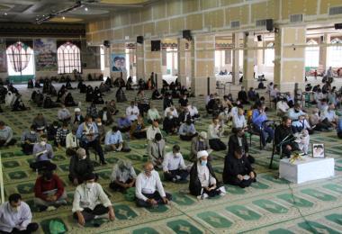 برگزاری آیین دعای پر فیض عرفه در خرمآباد