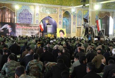 مراسم بزرگداشت شهادت سردار پرافتخار اسلام در لرستان