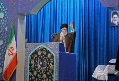 نماز جمعه به امامت رهبر معظم انقلاب اسلامی